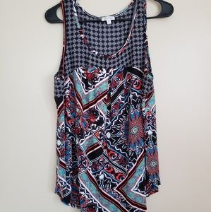 Anthropology Weston Patterned Top